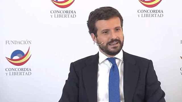 Casado llama a combatir el populismo con la defensa de la libertad