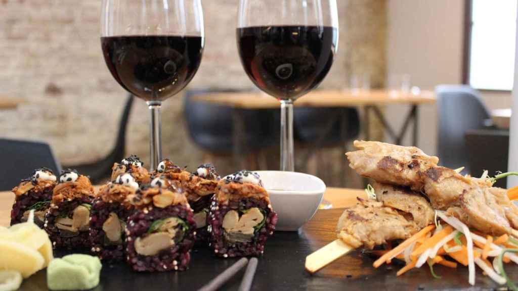 Uno de los platos creados por Foods for Tomorrow con su ingrediente estrella: Heura.