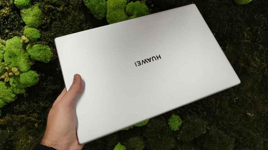 Cubierta del Huawei MateBook D15.