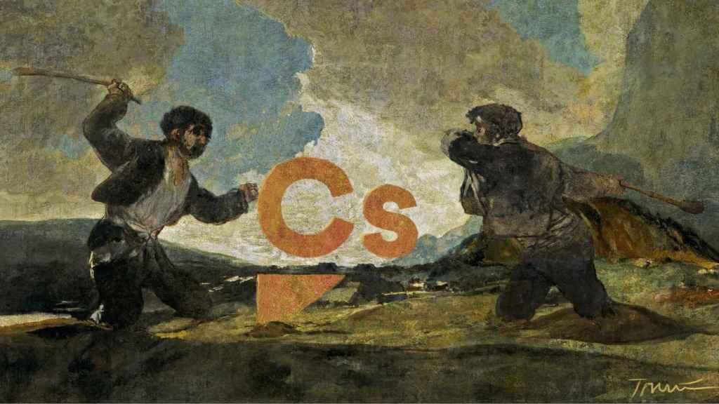Las dos Españas, a garrotazos con el centro.