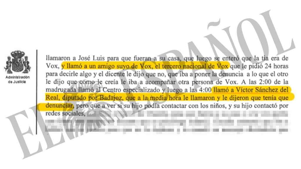 Declaración de Loic en el juzgado de Collado Villalba.