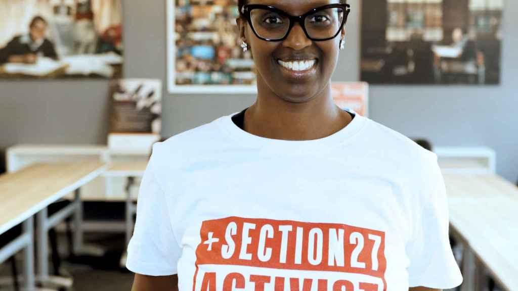 Umunyana Rugege, residente en Sudáfrica y activista por la igualdad de acceso a los medicamentos.