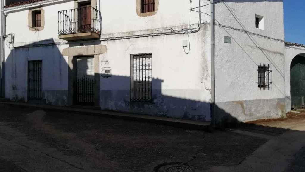 La casa familiar de Cercas en Ibahernando.