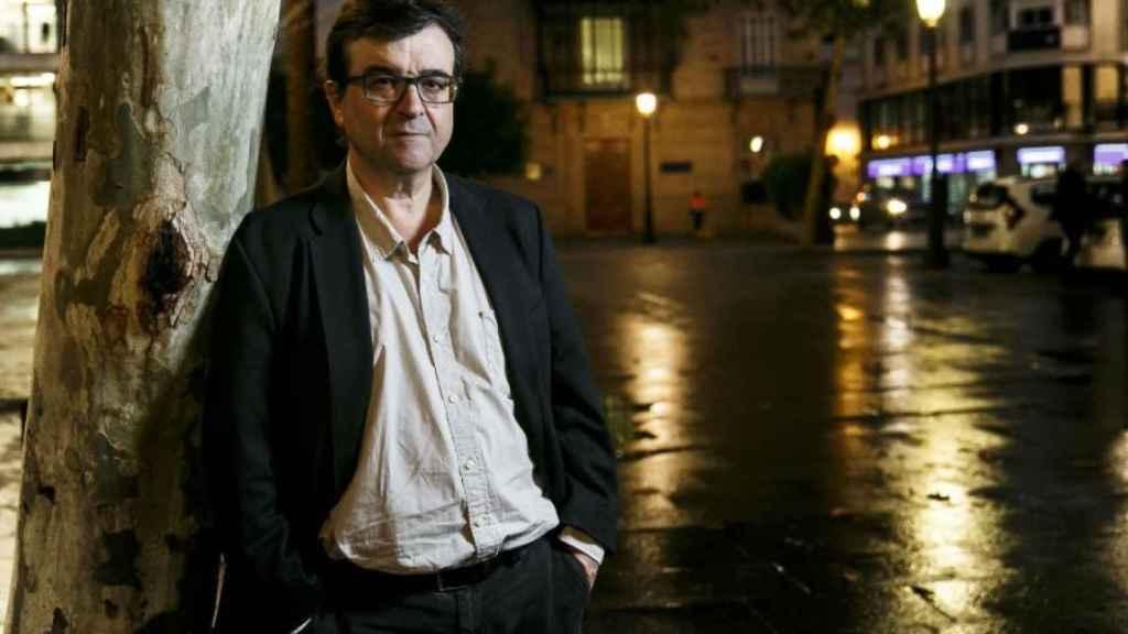 El escritor Javier Cercas, en Sevilla.