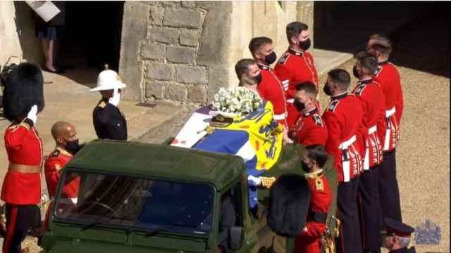 El solemne funeral duque de Edimburgo, en imágenes