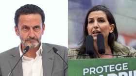 Los candidatos a la Comunidad de Madrid: Edmundo Bal (Ciudadanos) y Rocío Monasterio (Vox).