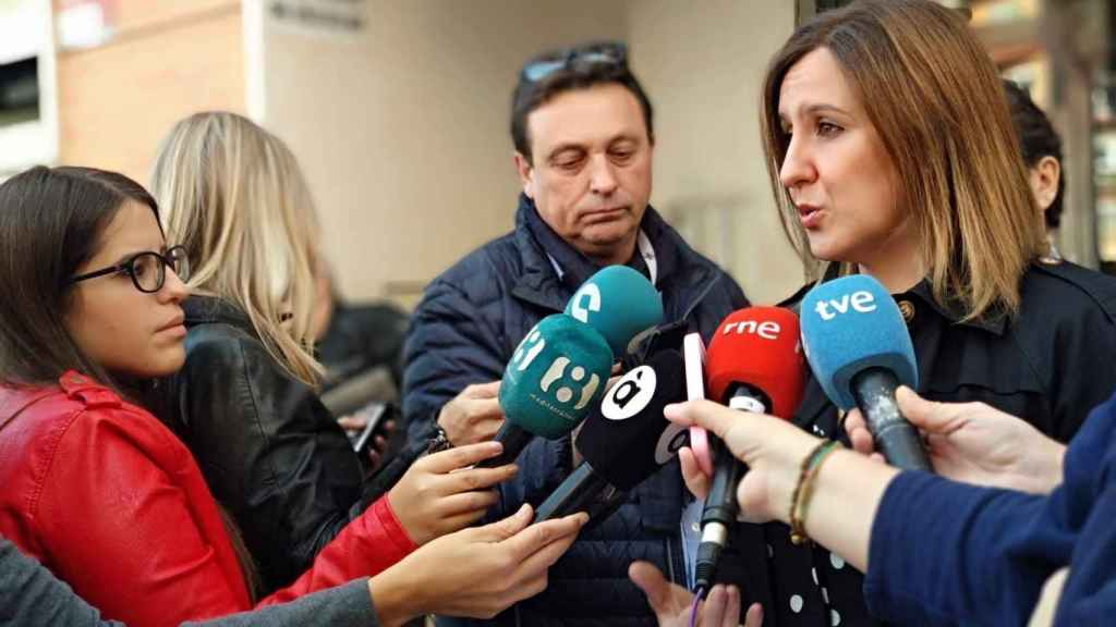 María José Catalá, portavoz del PP en el Ayuntamiento de Valencia.