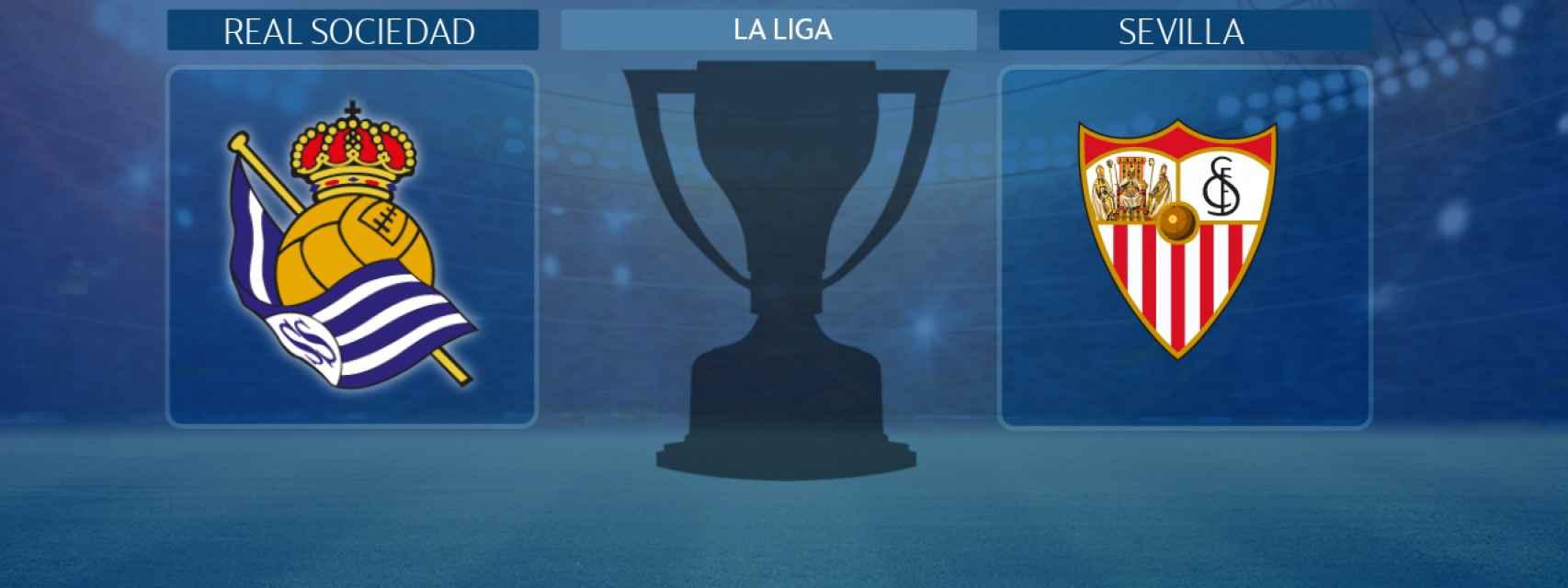 Real Sociedad - Sevilla, partido de La Liga