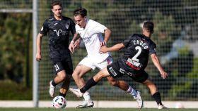 Hugo Vallejo recorta a Choco en el Castilla - CF Talavera