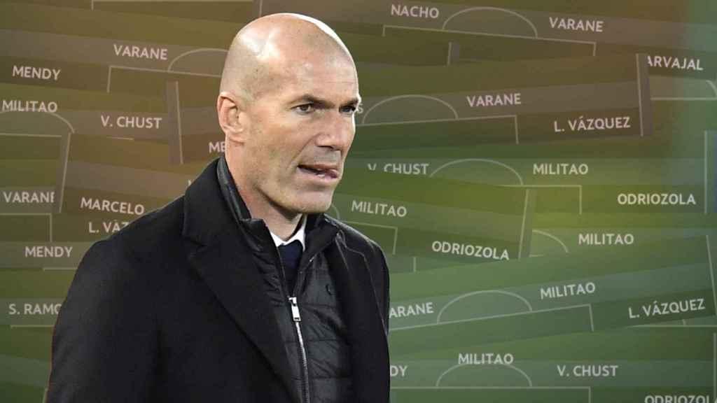 Las defensas de Zidane en 2021