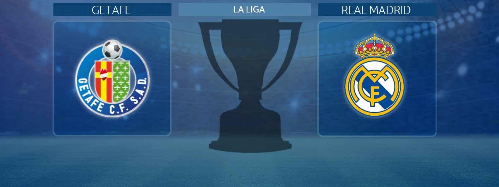 Getafe - Real Madrid, partido de La Liga