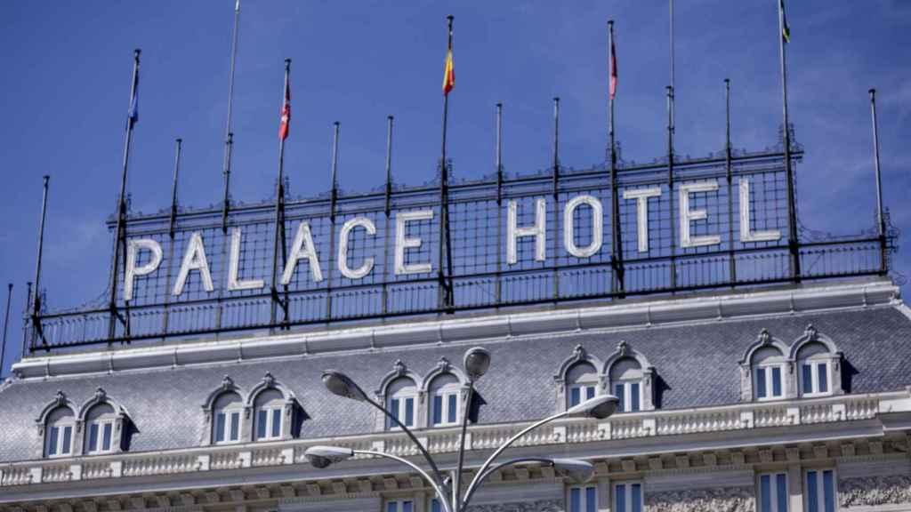 Fachada del Hotel The Westin Palace Madrid.
