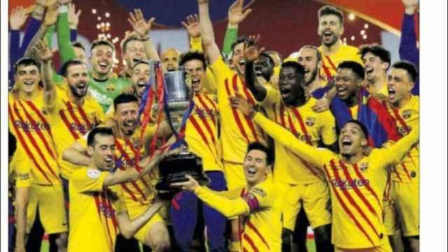La portada del diario SPORT (18/04/2021)