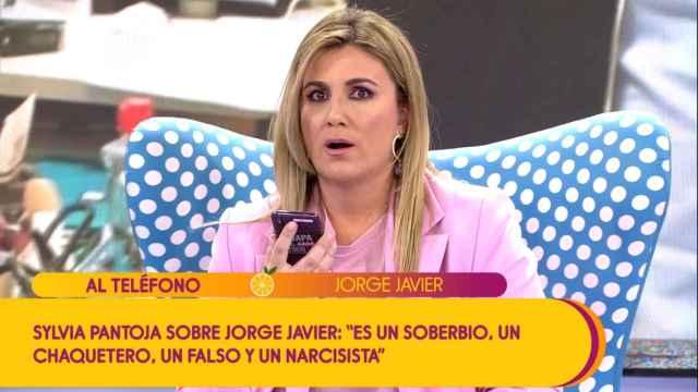 El cabreo de Jorge Javier Vázquez con Carlota Corredera
