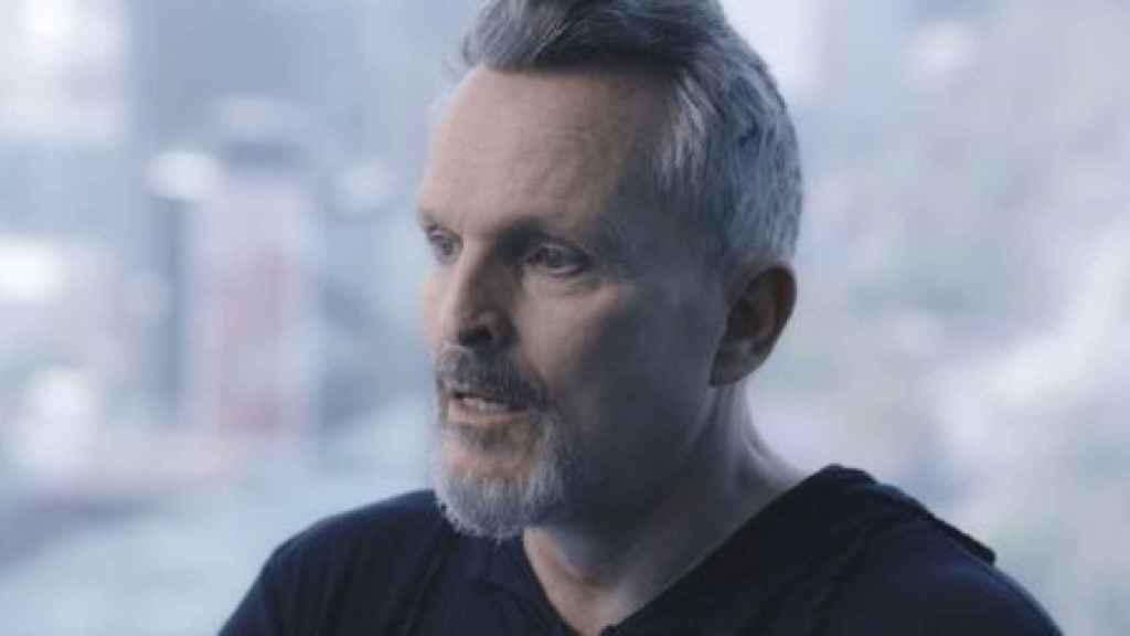 Miguel Bosé en 'Lo de Évole'.