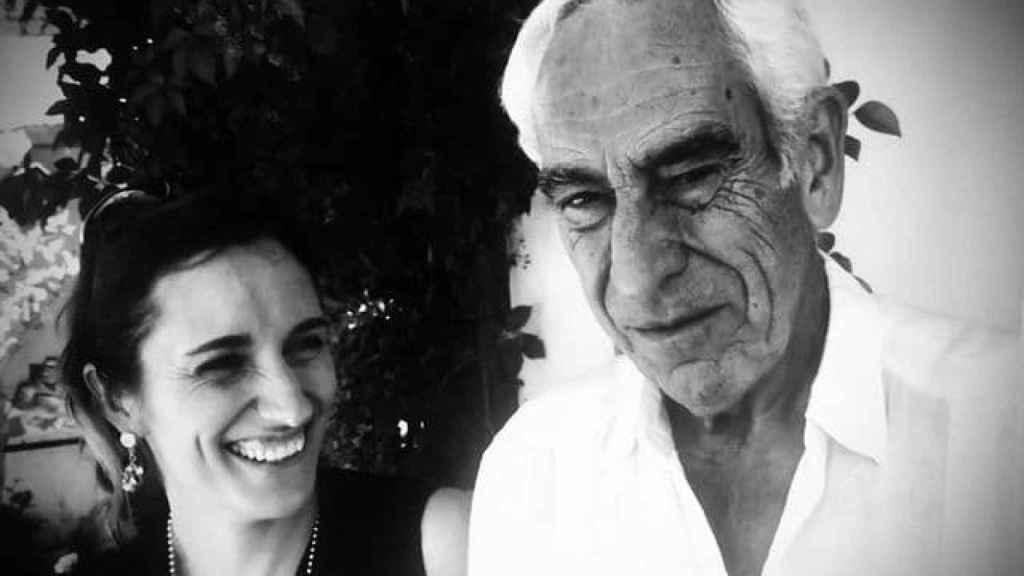 Mónica García y su padre, Sergio García Reyes.