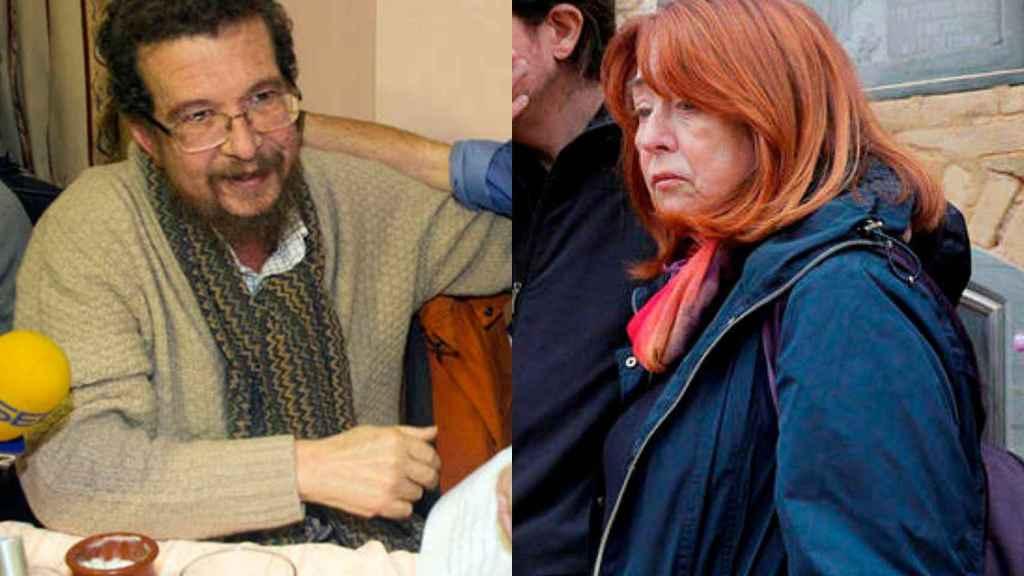 Los padres de Pablo Iglesias, Francisco Javier y María Luisa.