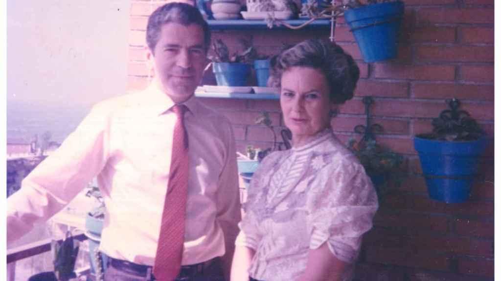 Los padres de Edmundo Bal, Jesús y Lolita, en una foto familiar.