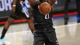LaMarcus Aldridge, durante un partido con los Brooklyn Nets