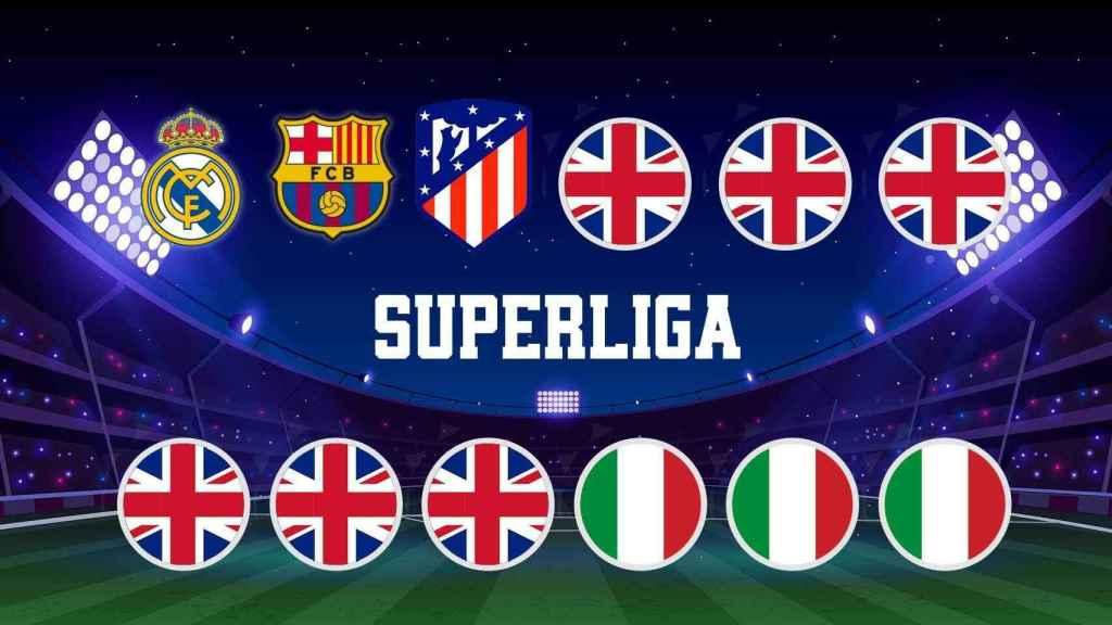 Los 12 equipos fundadores de la Superliga