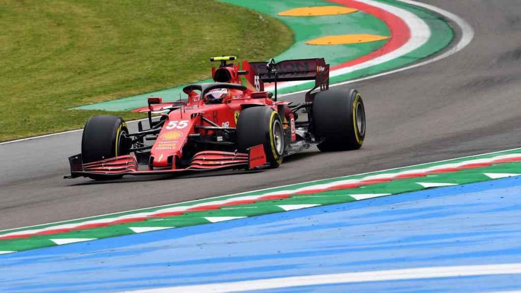 Carlos Sainz en el Gran Premio de la Emilia Romaña en Imola