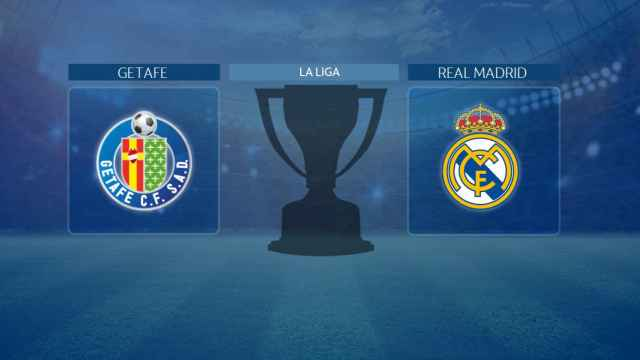 Streaming en directo | Getafe - Real Madrid (La Liga)