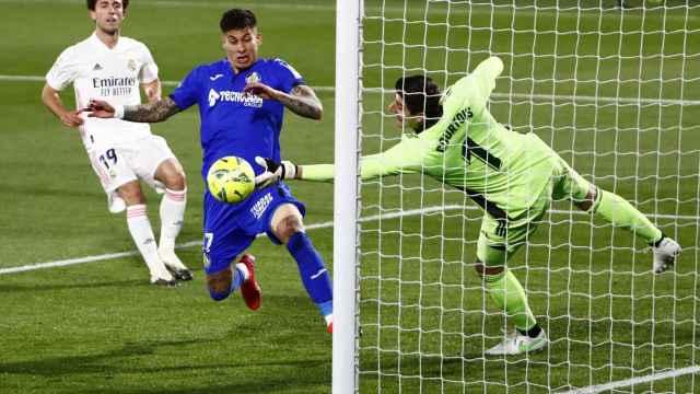 Las mejores imágenes del Getafe - Real Madrid de La Liga