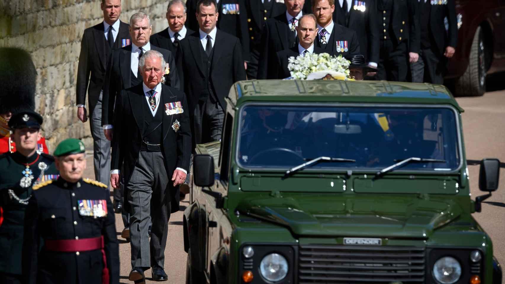 Este ha sido el Land Rover en el que ha realizado el último viaje el Duque de Edimburgo