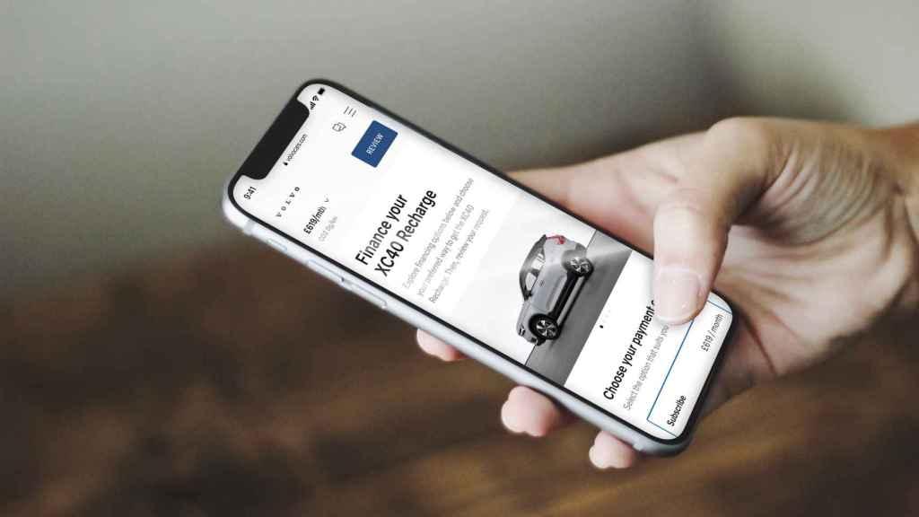 Volvo es una de las marcas que más servicios tiene digitalizados.