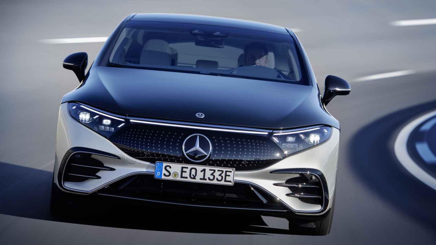 Así es el Mercedes más tecnológico; el eléctrico EQS ofrece 770 kilómetros de autonomía