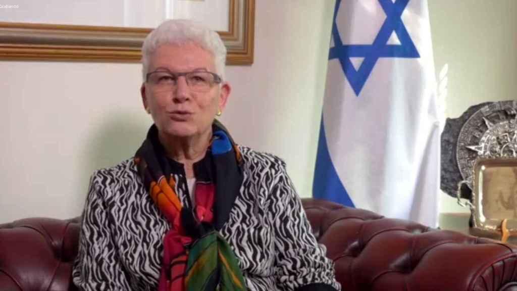 la embajadora israelí en España, Rodica Radian-Gordon.