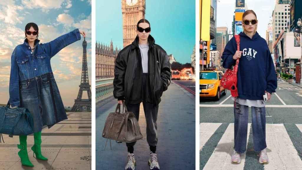 La nueva colección de Balenciaga busca trasladarte a las grandes ciudades con sus propuestas.