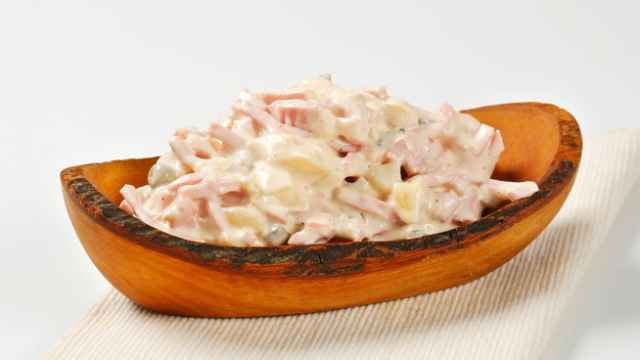 Ensalada piamontesa. Receta de cocina fácil, sencilla y deliciosa.