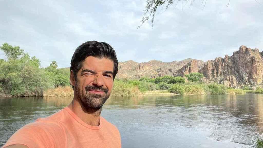 Miguel Ángel Muñoz ha compartido su rutina en Arizona, donde está rodando una ficción.