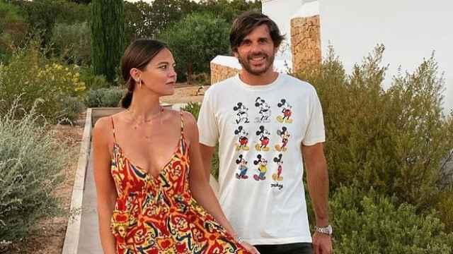 Álvaro Falcó e Isabelle Junot en una imagen de sus redes sociales.