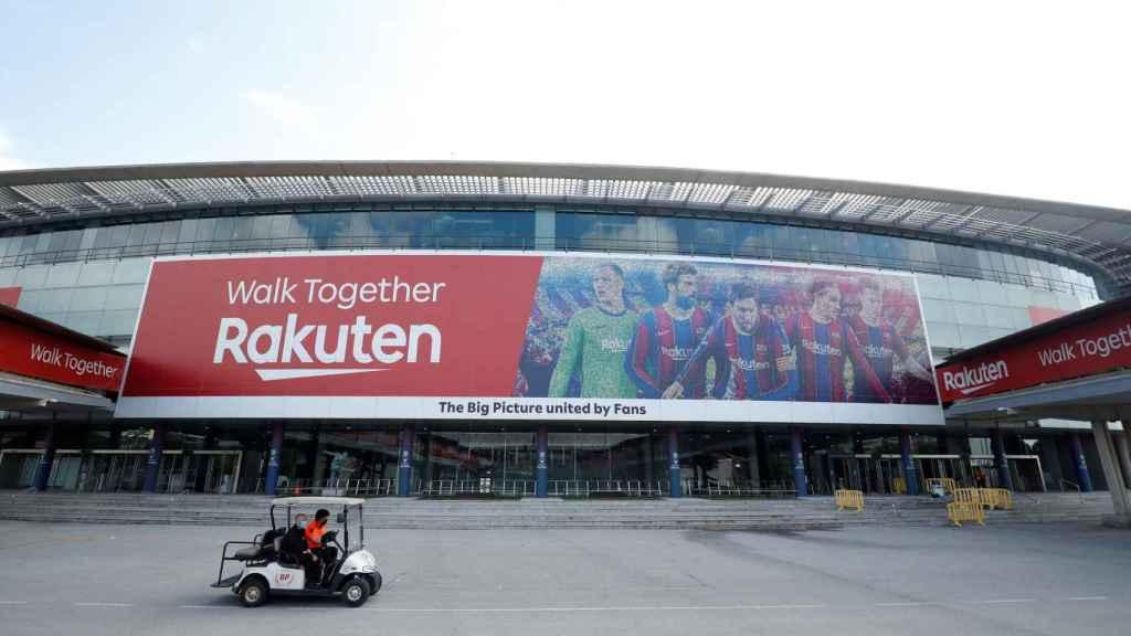 El exterior del Camp Nou