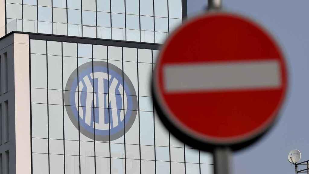 Las oficinas del Inter de Milan en la ciudad lombarda