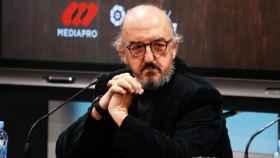 Jaume Roures en un acto de Mediapro