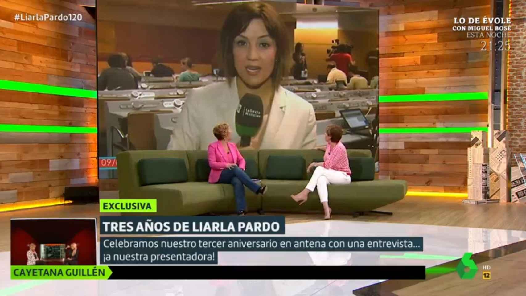 Cristina Pardo ha recordado el directo que hizo tras tomar varias copas.