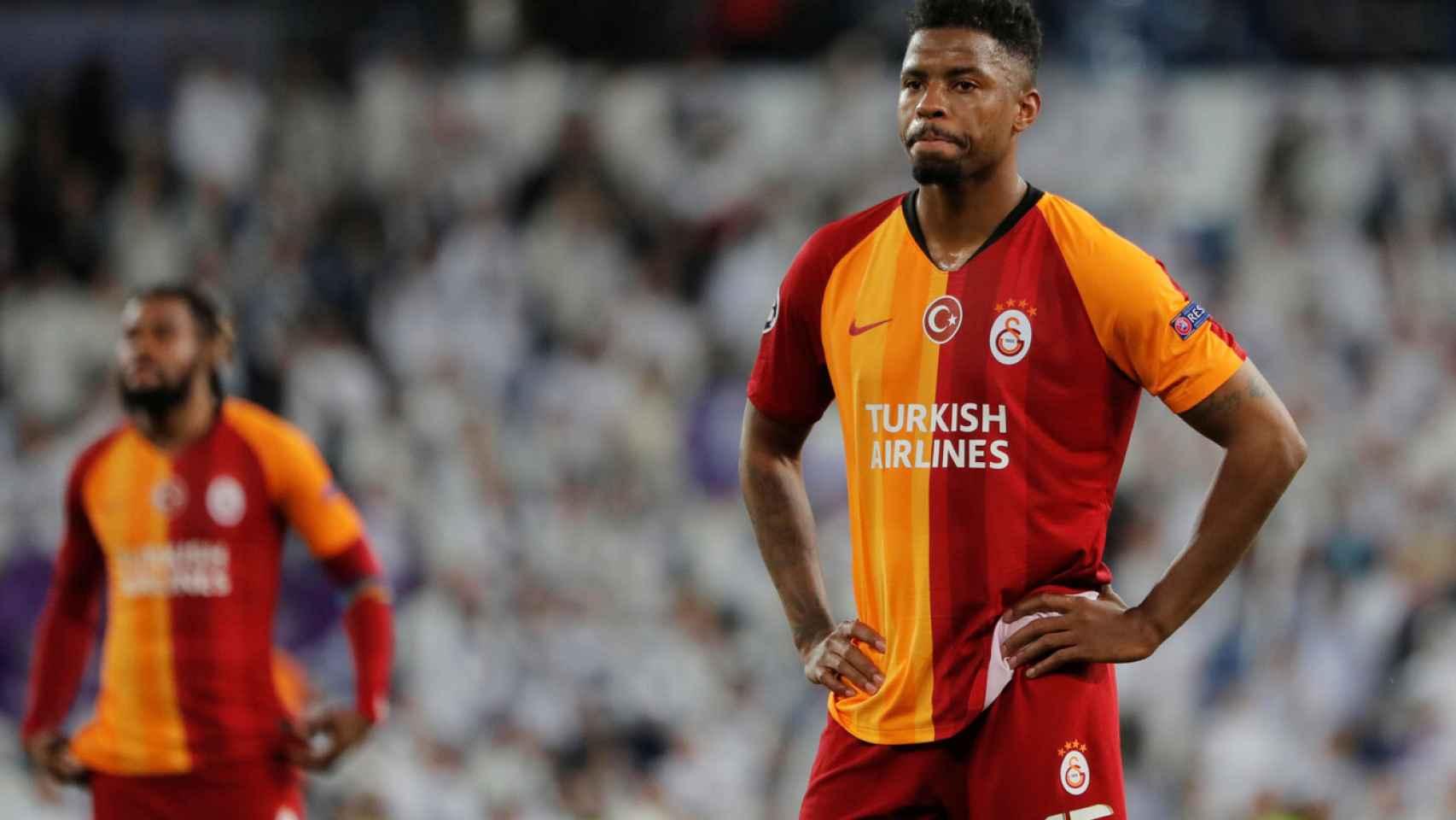 Ryan Donk, durante un partido con el Galatasaray