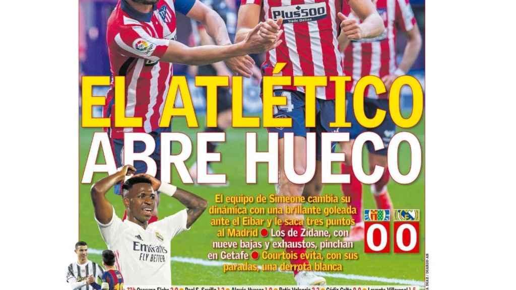 La portada del diario AS (19/04/2021)