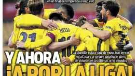 La portada del diario SPORT (19/04/2021)