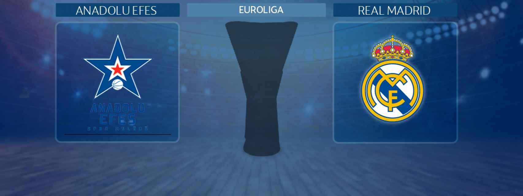 Anadolu Efes - Real Madrid, partido de la Euroliga