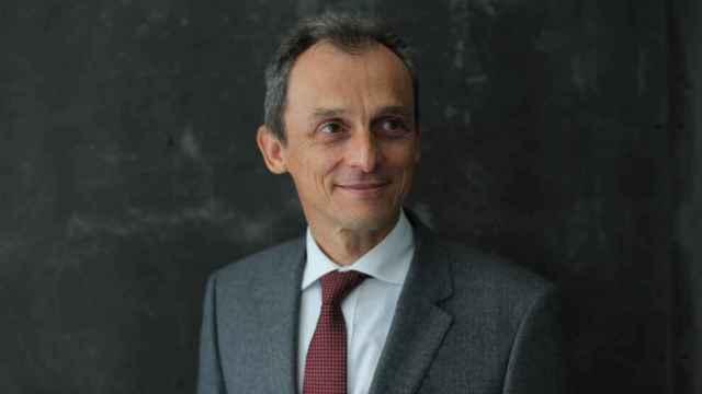 El ministro de Ciencia e Innovación, Pedro Duque, durante una entrevista para Europa Press. Foto: Isabel Infantes - Europa Press