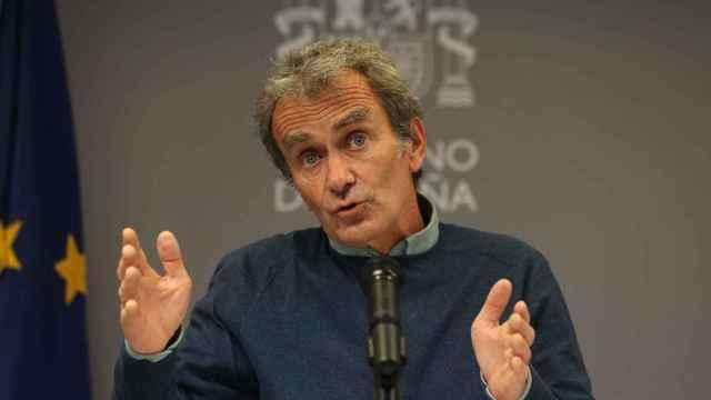 El director del Centro de Coordinación de Alertas y Emergencias Sanitarias (CCAES), Fernando Simón.