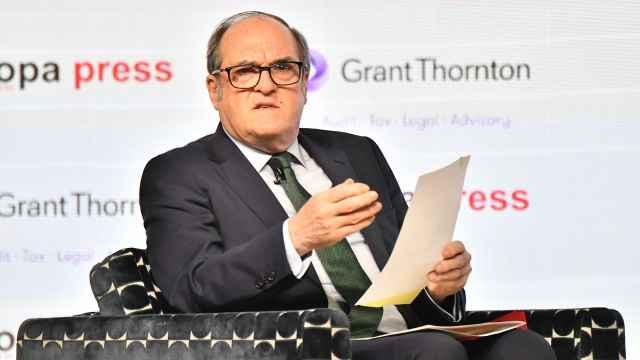 Ángel Gabilondo interviene en un desayuno informativo de la agencia Europa Press.
