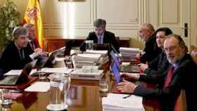 Reunión del CGPJ en una imagen de archivo./