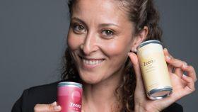 Sana Khouja, fundadora de Zeena, el vino en lata.
