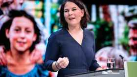 La líder de los Verdes alemanes, Annalena Baerbock.