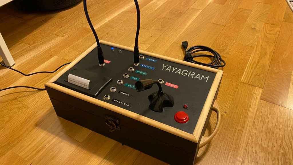 El Yayagram, dispositivo para comunicarse por Telegram